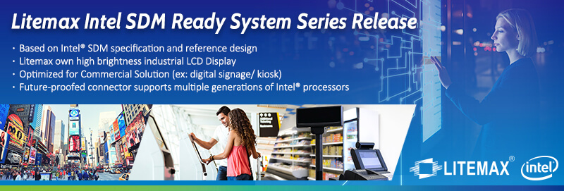 Litemax launches Intel SDM-based systems